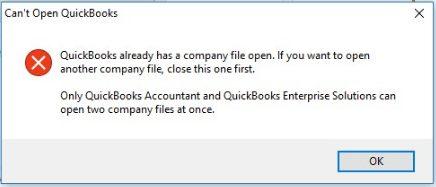 Why won't Quickbooks Open
