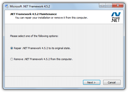 Fixing Windows components Manually