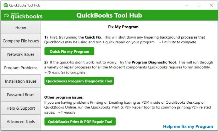 Quickbooks Tool Hub