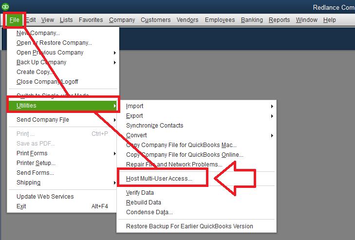 Stop hosting multi-user access