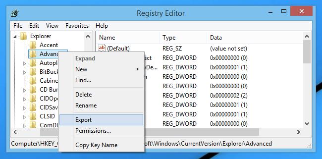 Repair the Registry Entries