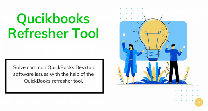 Using Quickbooks Refresher Tool