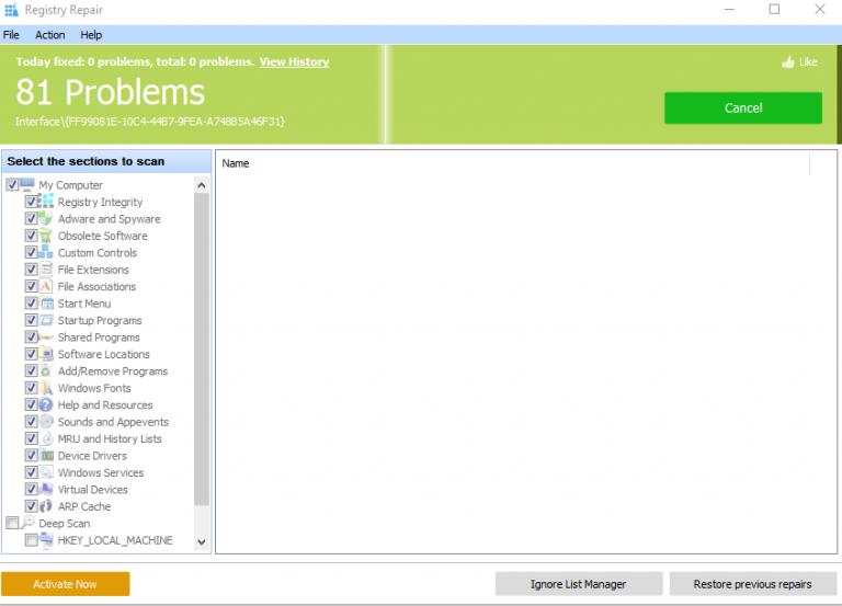 Repairing Windows Repair Registry and Upgrading Windows