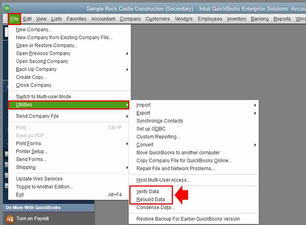 how to fix negative inventory asset in quickbooks online