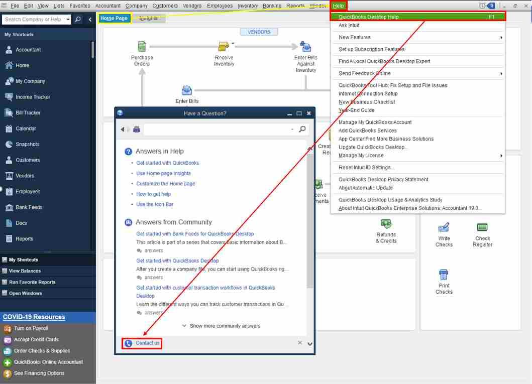 how to fix negative inventory in quickbooks premier manufacturing desktop