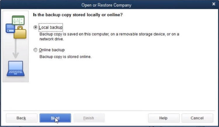 what is a portable company file in quickbooks