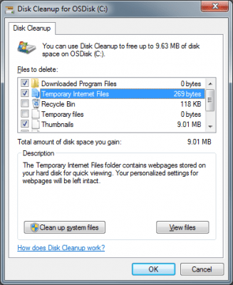 Cleanmgr (Disk Cleanup) to Remove All System Junk Files