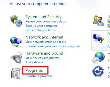 Installing Microsoft .NET Framework