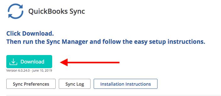 quickbooks sync manager error