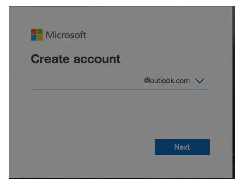 New Microsoft outlook email profile