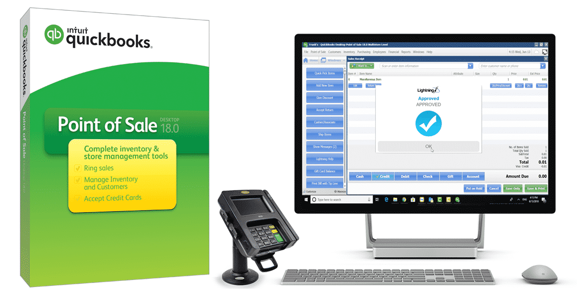 QuickBooks POS Payment Processing