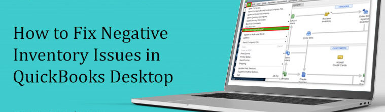 Quickbooks Negative Inventory